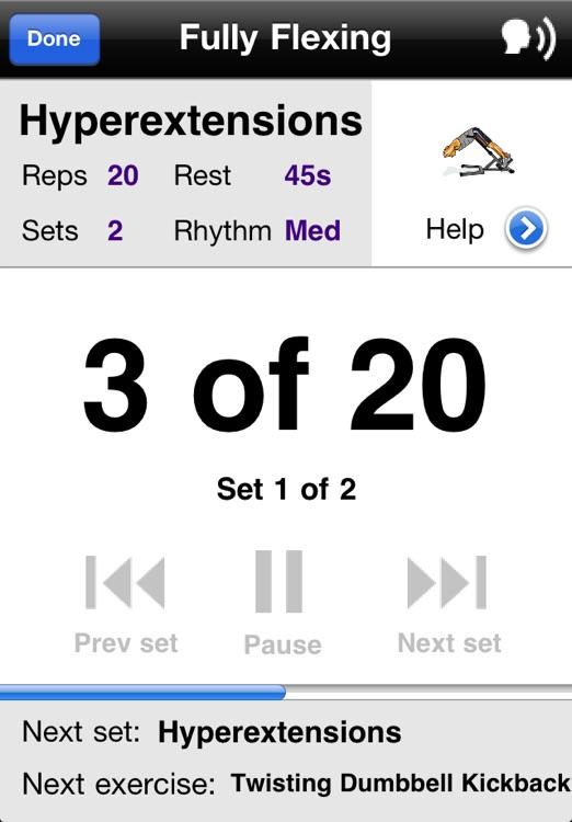 Gym Workouts Free screenshot-3