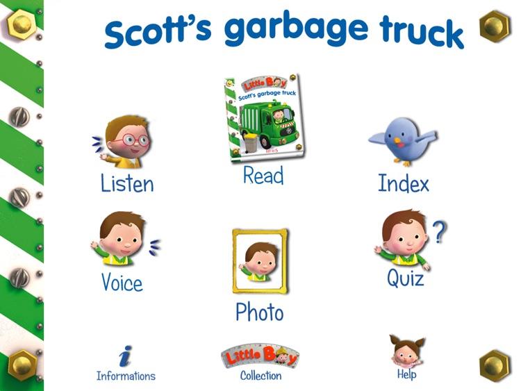 LITTLE BOY - SCOTT'S GARBAGE TRUCK HD