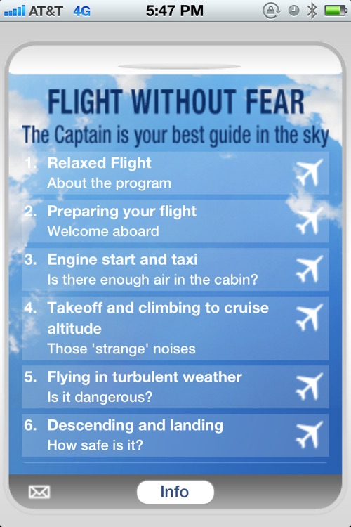Flight without Fear Audio screenshot-1