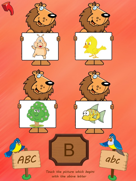 ABC Tracer with words and phonics - HD screenshot-3