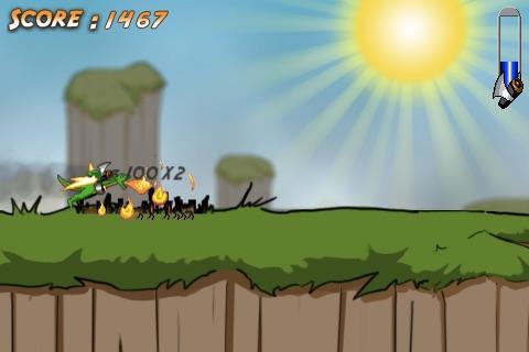 Super Jetpack Dragon IV: Village Burntopia
