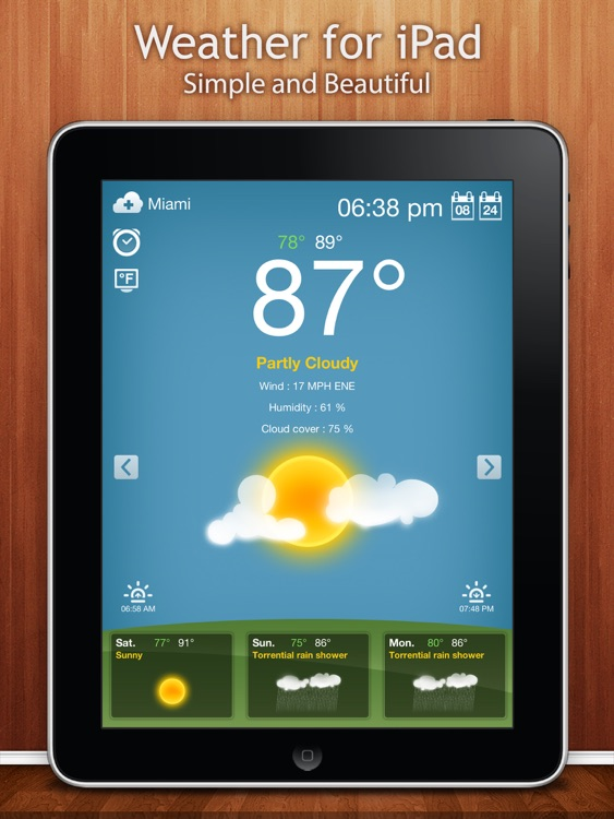 Weather for iPad screenshot-0
