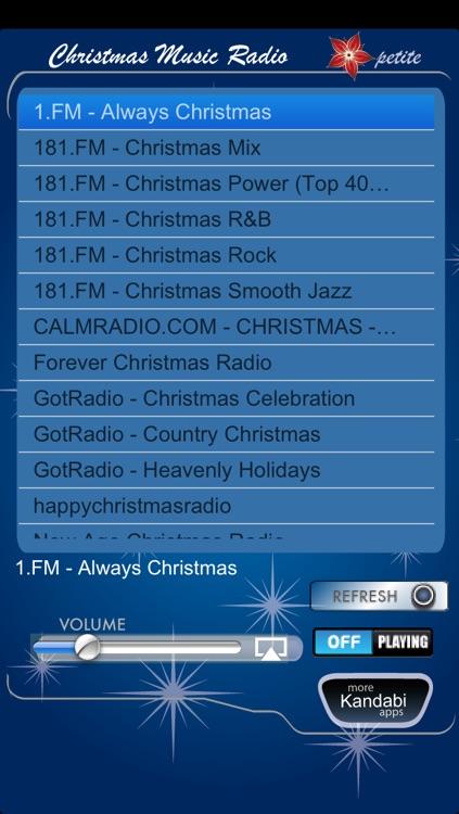 Christmas Music Radio Petite