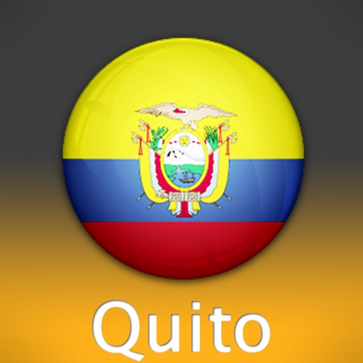 Quito Travel Map (Ecuador) icon