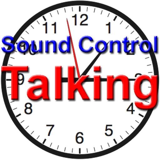 Sound Control Talking Clock