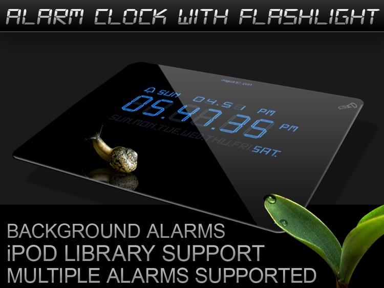 Alarm Clock with Flashlights Lite