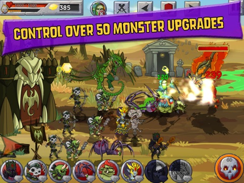 Monster Wars для iPad