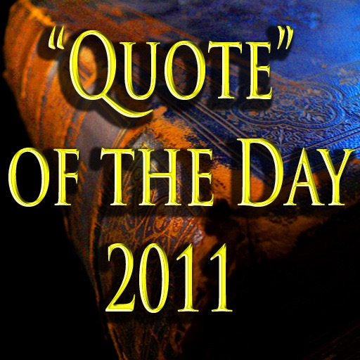 Quote Of The Day 2011