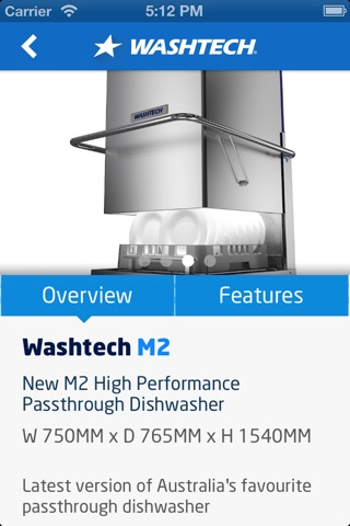 Screenshot of Washtech