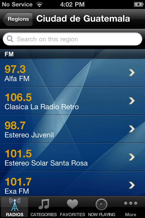 Guatemala Radio Player screenshot-1