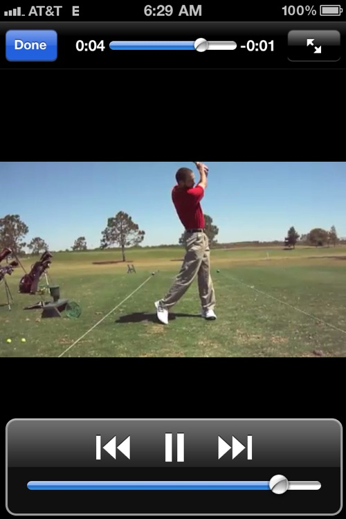 THE Golf App screenshot-3