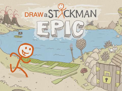 Draw a Stickman: EPIC HD на iPad