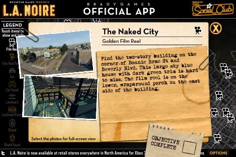BRADYGAMES Official L.A. NOIRE APP screenshot-3