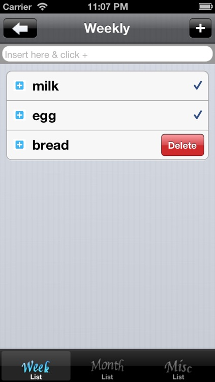 Simple Shopping List screenshot-3
