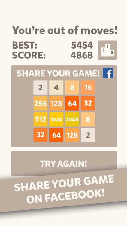2048 Mobile Logic Game - Join the numbers