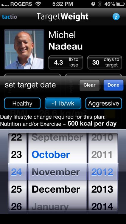 Target WEIGHT for Adults (Personal Daily Weight Tracker & BMI) screenshot-4