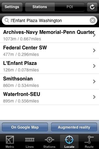 Washington Metro screenshot-4