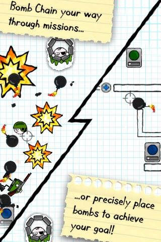 Doodle Bomb Lite screenshot-4