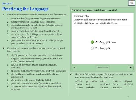 Cambridge latin course book 3 stage 21 vocabulary