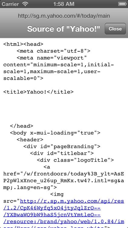 Narrow: Plain hypetext web browser screenshot-3