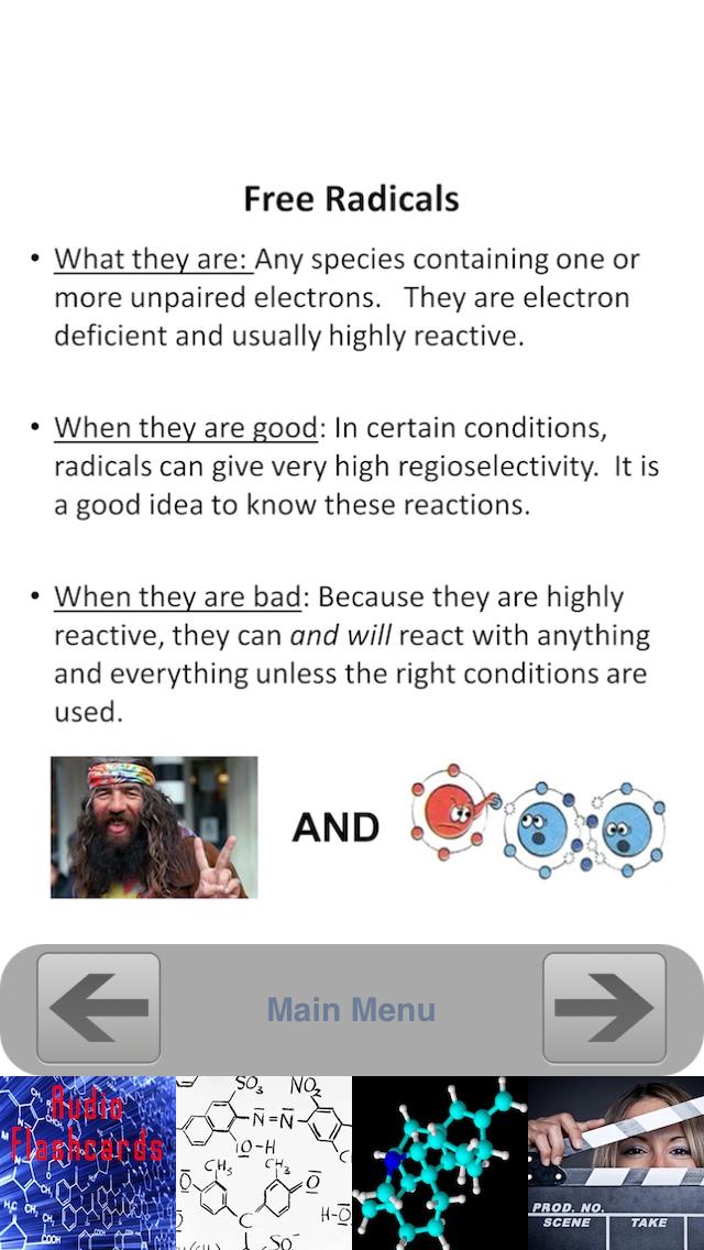 Organic Chemistry Essentials screenshot three