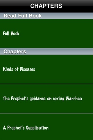 Medicine Of Prophet (SWS) ( Islam Quran Hadith - Ramadan Islamic Apps ) screenshot-1