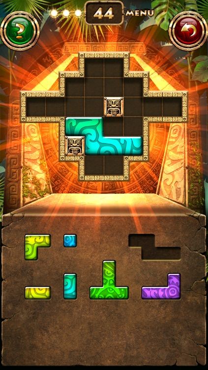 Montezuma Puzzle Lite screenshot-4