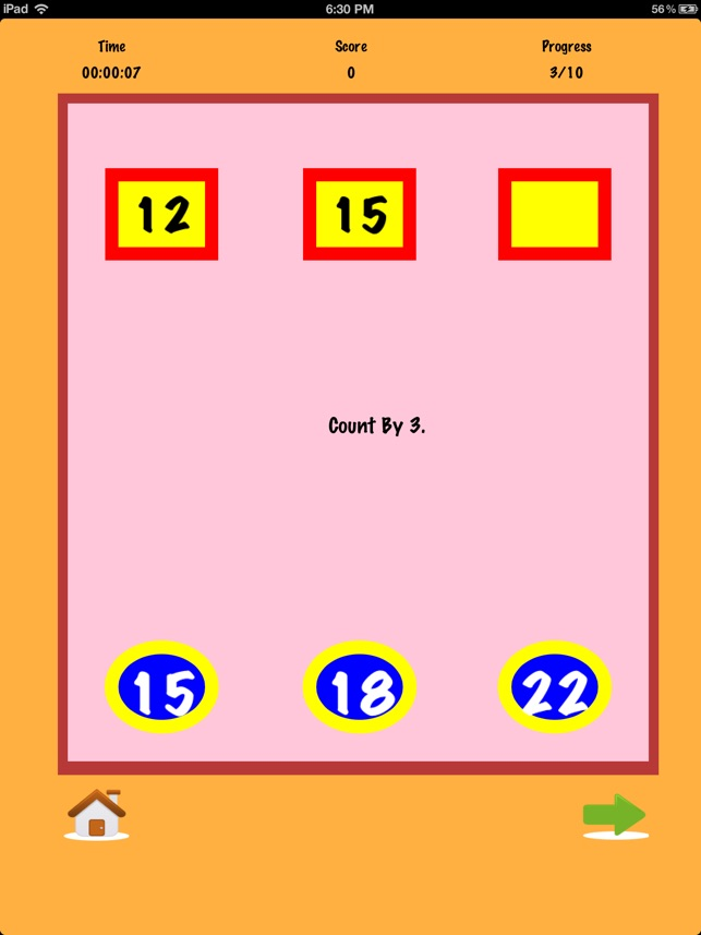 A Number Math App - practice basic elementary number facts for ...