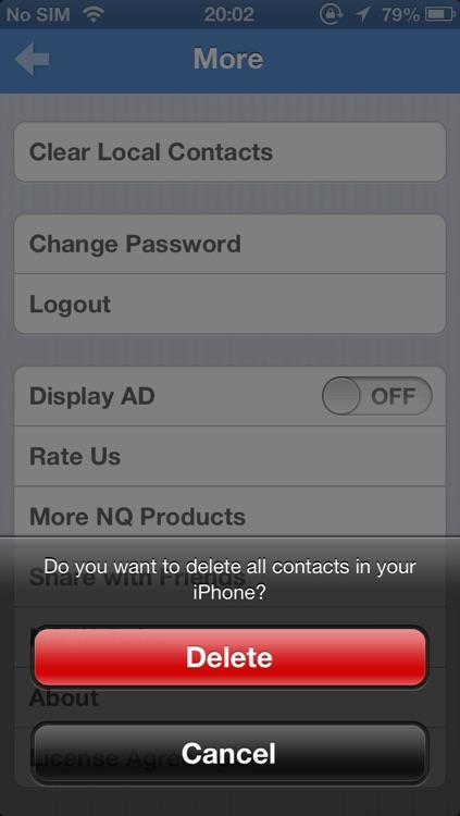 NQ Contacts Sync screenshot-3