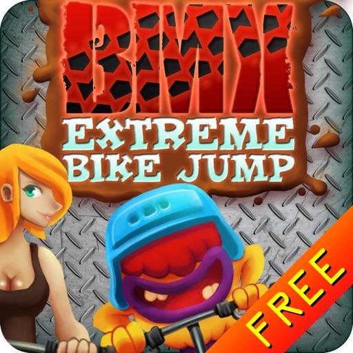 BMX Extreme Bike Jump