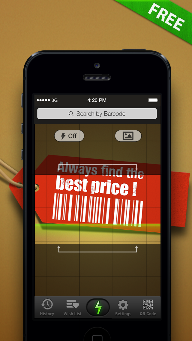 Quick Scan - Barcode Scanner & Best Shopping Companion Screenshot 1