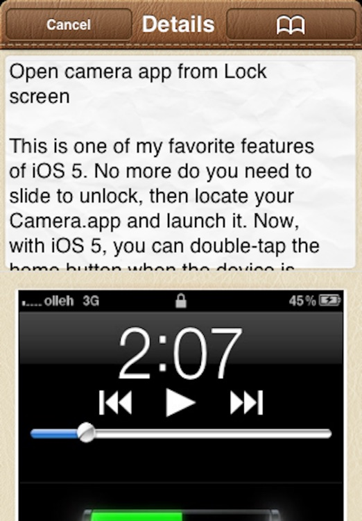 Tips & Tricks for iPhone & iPod Touch Free