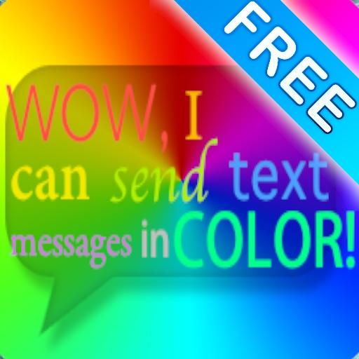 Цветные Texting Bubble free