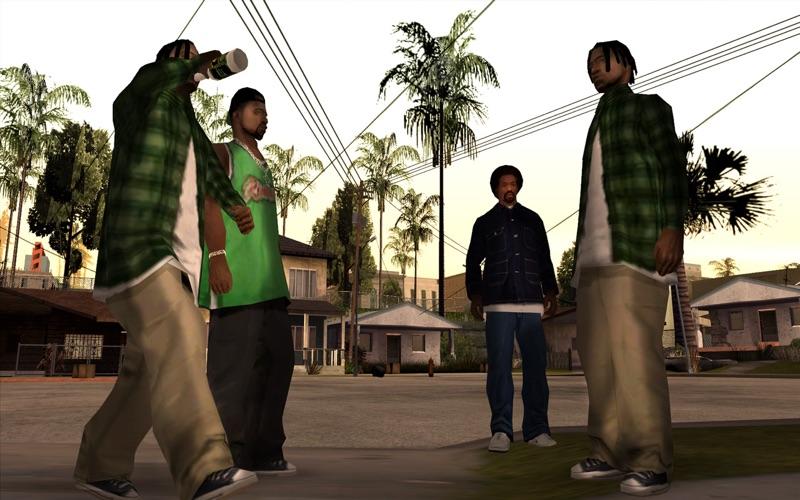 Grand Theft Auto: San Andreas скриншот программы 3