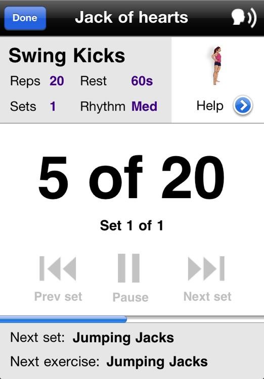 Hip & Thigh Workouts Free screenshot-3
