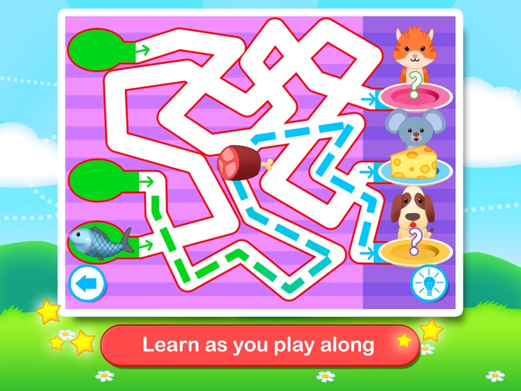 Toddler Maze 123 - Fun learning with Children animated puzzle game screenshot-2