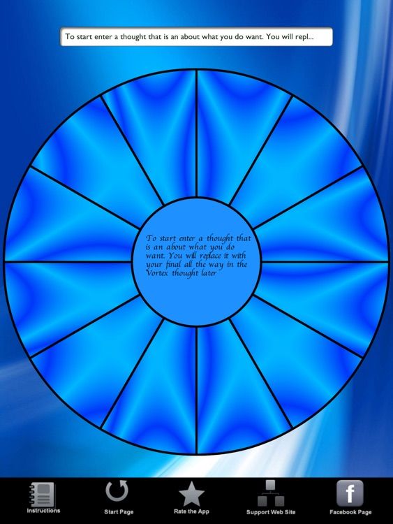 Law of Attraction Focus Wheel HD screenshot-1