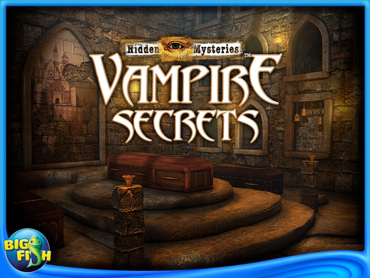 Vampire Secrets: Hidden Mysteries HD screenshot-0