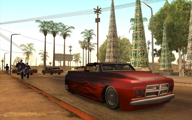 Grand Theft Auto: San Andreas скриншот программы 2