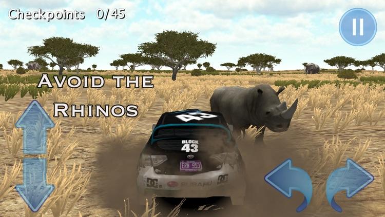 African Rally Race 3D : 4x4 Real Kruger Safari Racing screenshot-3