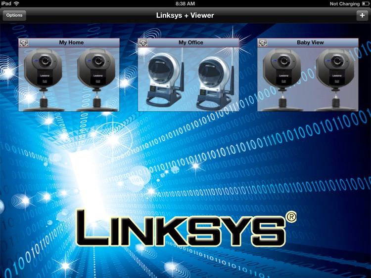 Linksys+ Viewer for iPad
