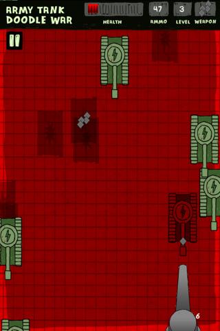 Ejército de Tanques de Guerra Doodle - Una Defensa Super Fun Juego Batalla Libre ( Army Tank Doodle War Free Game )Captura de pantalla de4