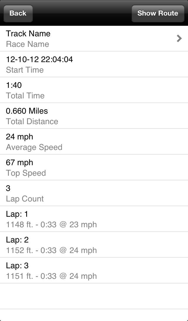 Race Trax Screenshot