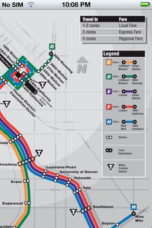 TransitGuru Denver RTD