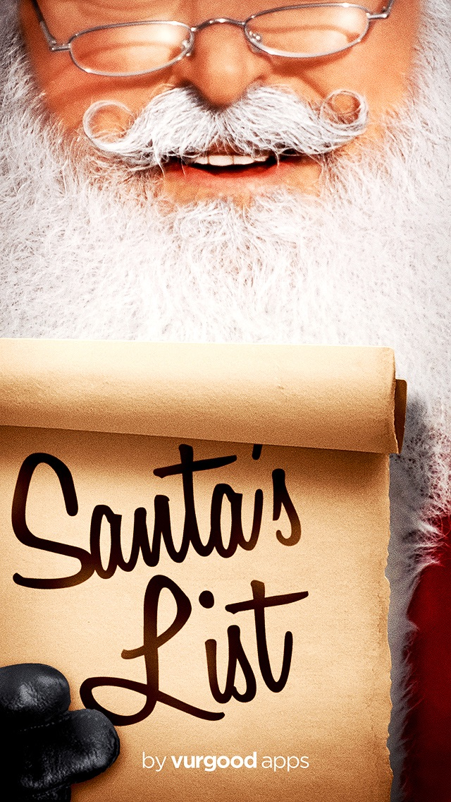 Santa's List - Christmas Gift Organizer screenshot one