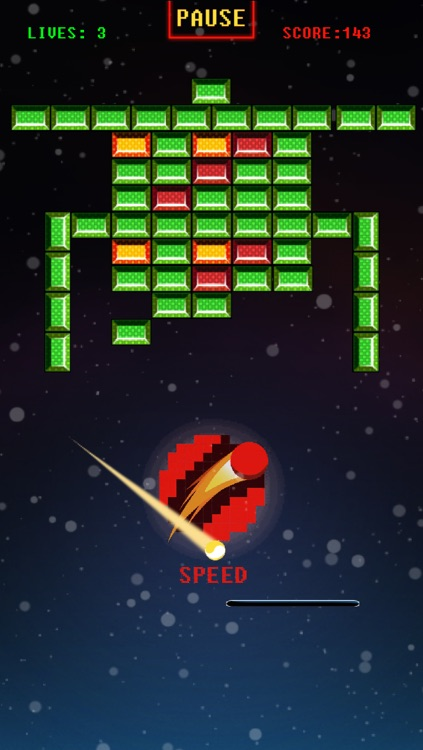Space Bricks Breaker Free screenshot-3