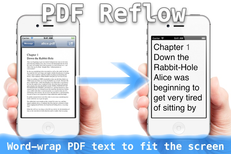 BigReader : PDF Reflow with Large Font screenshot-0