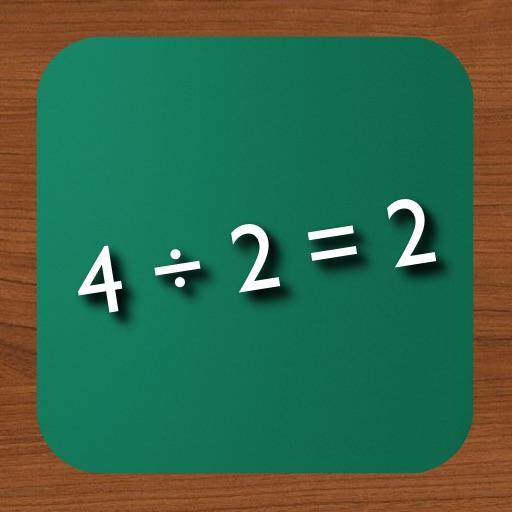 Math Flash Cards ÷