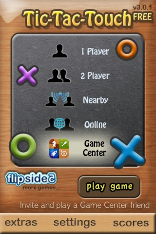 Tic-Tac-Touch: FS5 (FREE) screenshot one