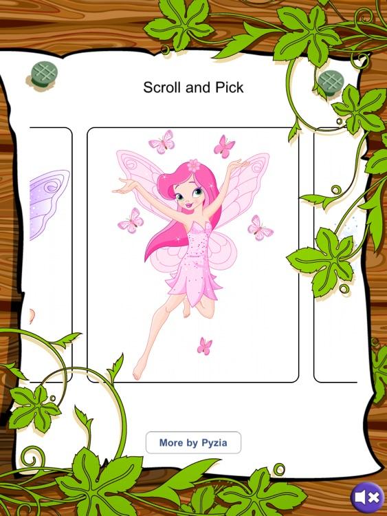 Fairy Coloring Free screenshot-3